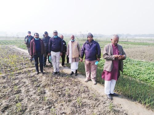 समुन्नती कार्यक्रम अन्तरगत बार्षिक कार्यक्रमको समिक्षा एवं अनुगमन