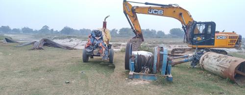 भारतीय सुरक्षाकर्मीद्वारा हुलाकी सडक अन्तरगतको पुल निर्माणमा अवरोध