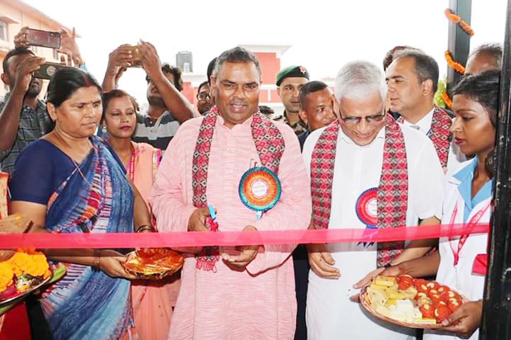 शहीद गंगालाल राष्ट्रिय हुदयकेन्द्रको शाखा जनकपुरमा
