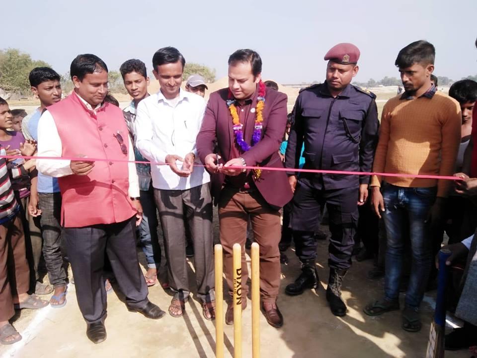 जाँजरमा टि ट्वान्टी क्रिकेट प्रतियोगिता शुरु