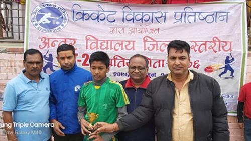 अन्तरबिद्यालय क्रिकेटमा शिब्स र ग्लोवल बिजयी, आठ विद्यालय क्वाटर फाईनलमा प्रवेश