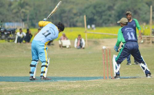 गजेन्द्र नारायण सिंह क्रिकेट प्रतियोगितामा लौनिया र तिलाठी बिजयी